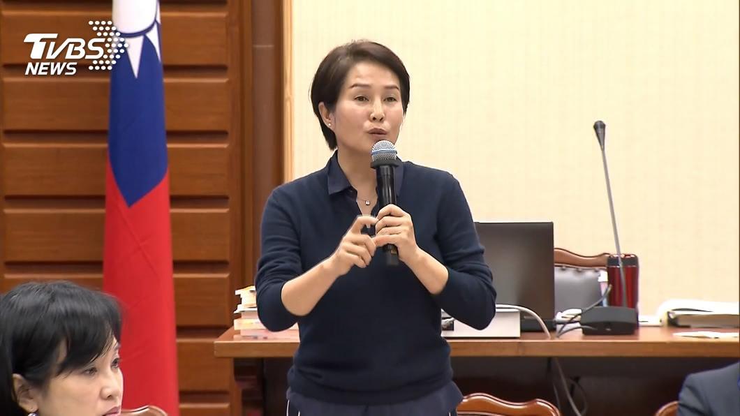 圖/TVBS 「肺部有問題!」 高金素梅宣布告假一個月