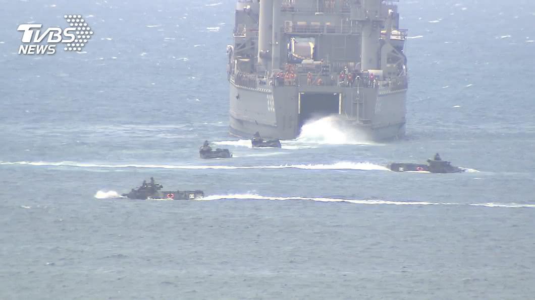 (圖/TVBS) 台海進入準戰爭狀態? 國安局:密切關注陸方動作