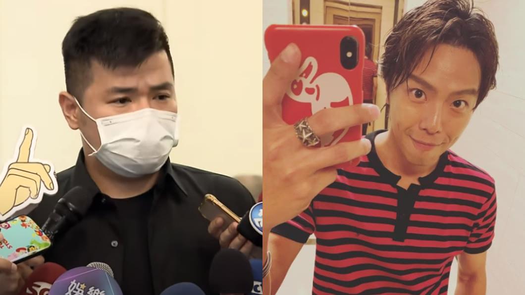 圖/翻攝自小鬼IG、TVBS資料照 悲痛譴責命理師「沒幫助」!經紀人:不是鴻升希望的方式