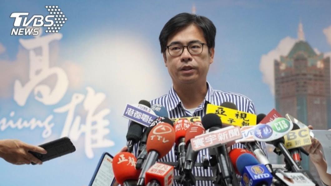 高雄市長陳其邁。(圖/中央社) 談美國大選影響 陳其邁:官民與兩政黨都有往來