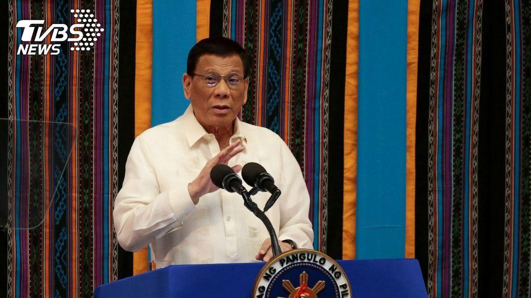 菲律賓總統杜特蒂,於聯大表示南海仲裁結果不能妥協。(圖/達志影像路透社) 杜特蒂首次聯大發言 表示南海仲裁結果絕不妥協
