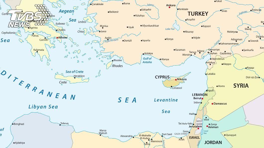 土耳其和希臘表示願意針對東地中海爭議舉行會談。(示意圖/shutterstock 達志影像) 地中海危機有轉機 土耳其希臘擬在伊斯坦堡會談