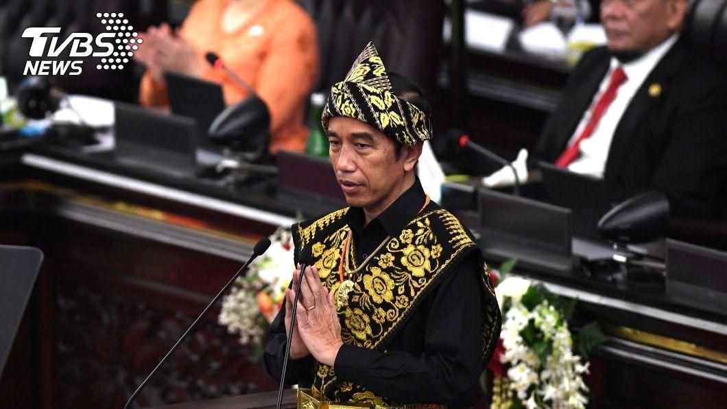 印尼總統佐科威聯大演說,警告強權對立將摧毀全球和平。(圖/達志影像路透社) 印尼總統聯大演說 警告強權對立將摧毀全球和平