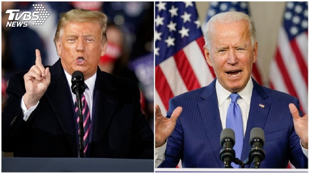 (圖/達志影像美聯社) 美總統大選辯論29日登場 主題含疫情、經濟、大法官等