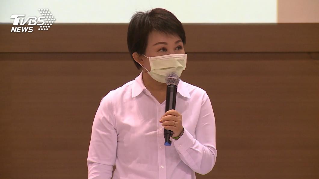 台中市長盧秀燕。(圖/TVBS) 市長聯盟矮化台灣獲更正 盧秀燕:再被改名就退出