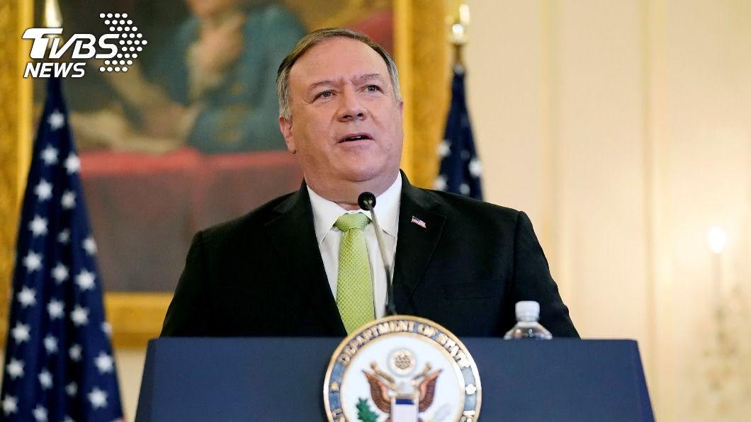 美國國務卿龐佩奧。(圖/達志影像路透社) 蓬佩奧控中國大陸施壓美地方官員 不得與台灣往來