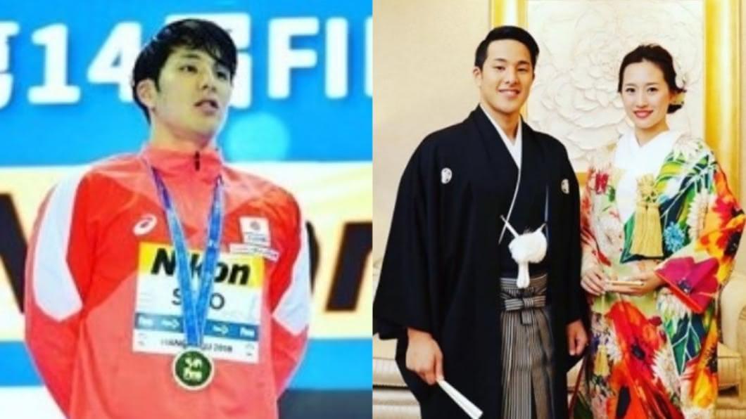 日本泳將瀨戶大也驚爆婚外情。(圖/翻攝自瀨戶大也IG) 奧運泳將爆載小三「滑進賓館」90分鐘 辣妻心碎發聲