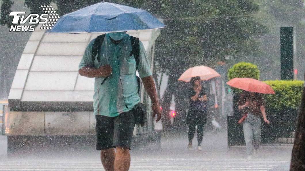 (圖/中央社) 變天轉濕涼!北部低溫下探21度 午後南部雨勢較大