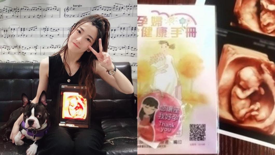 鼓手羅小白宣布懷孕14週。(圖/翻攝自羅小白臉書) 「最美鼓手」結婚半年傳喜訊 26歲宣布升格當媽