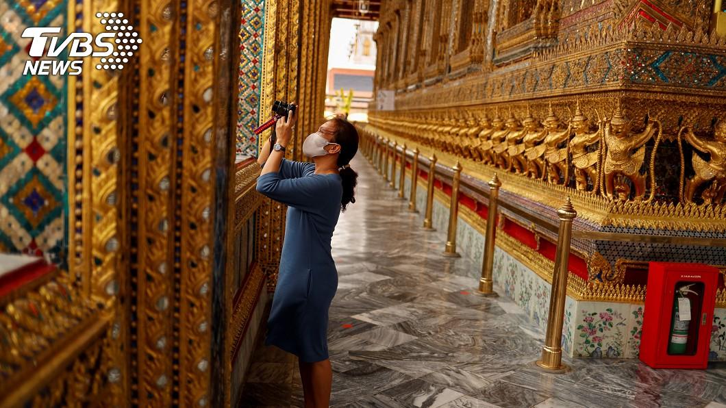 泰國將限額開放外國觀光客入境90天。(圖/達志影像路透社) 泰國開放觀光客入境90天 10月起限額申請
