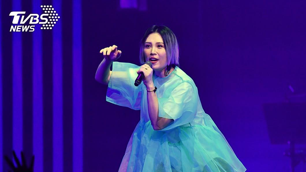 歌手魏如萱將擔任「金曲31」主持人。(圖/中央社) 將擔金曲主持大任 魏如萱信心喊話「拿下歌后」!