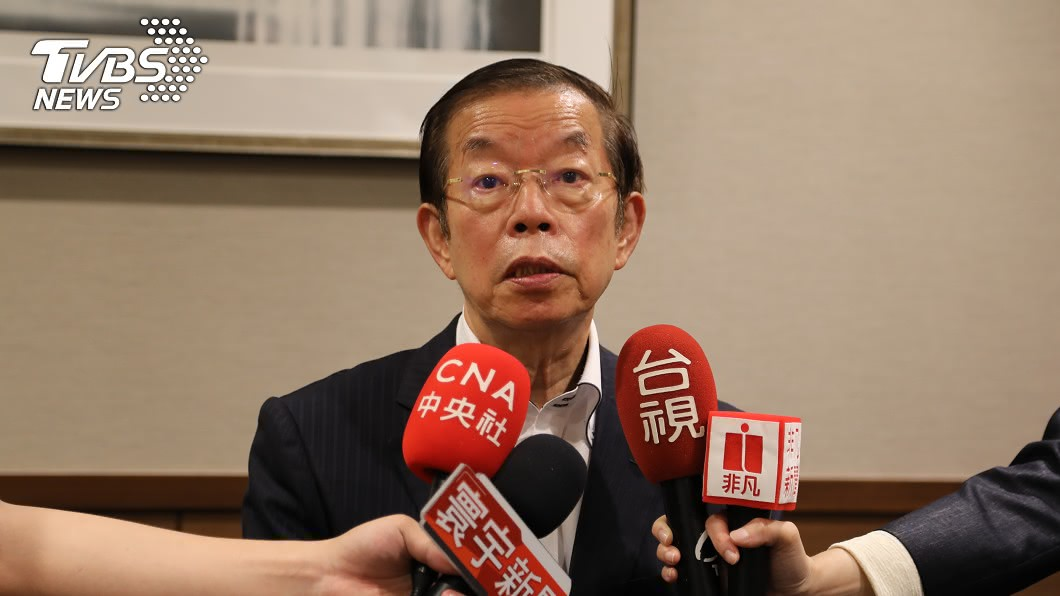 駐日代表謝長廷被日媒稱「台灣駐日大使」。(圖/中央社) 被稱「台灣駐日大使」 謝長廷:誠實自然就好