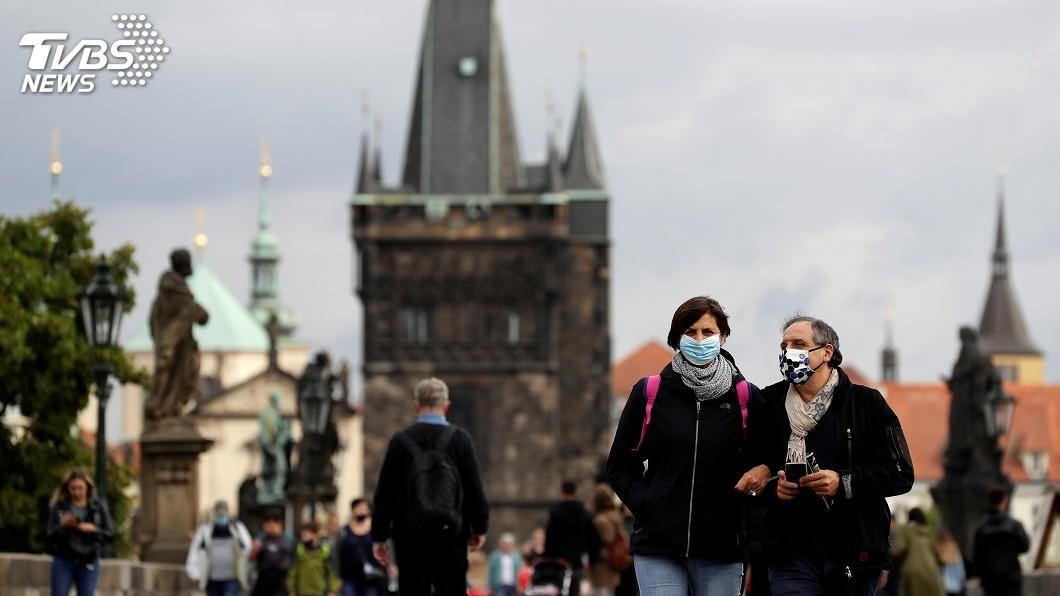 歐洲疫情有擴大的趨勢。(圖/達志影像路透社) 歐洲新冠肺炎疫情擴大 德對過半歐盟國發旅遊警示