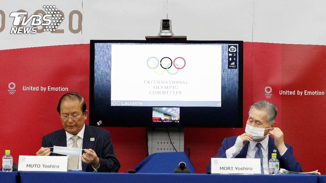 圖/達志影像路透社 人類將戰勝病毒! 日本決心2021年辦東奧
