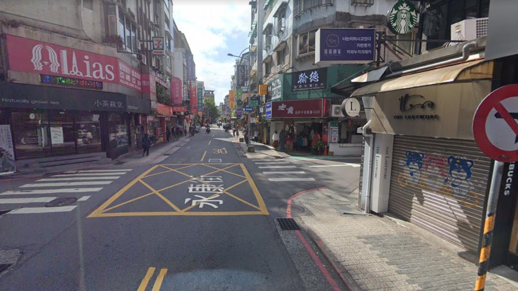 圖/翻攝自google街景地圖 街道空蕩沒人!他驚:不是我認識的永康街 在地人曝實況