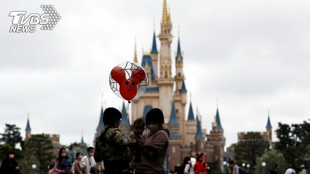 圖/達志影像路透社 東京迪士尼新園區! 重現「美女與野獸」經典場景