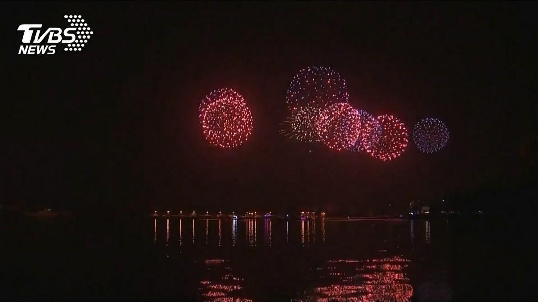 國慶焰火將在台南漁光島施放,初估會湧進25萬人。(圖/TVBS) 國慶焰火漁光島登場 南市府動員逾6千人部署