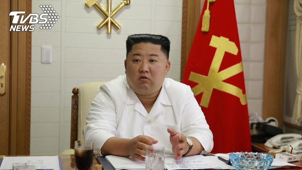 北韓領導人金正恩針對案,25日罕見致歉。(圖/達志影像路透社) 南韓搜尋遭射殺官員遺體 北韓警告勿越界