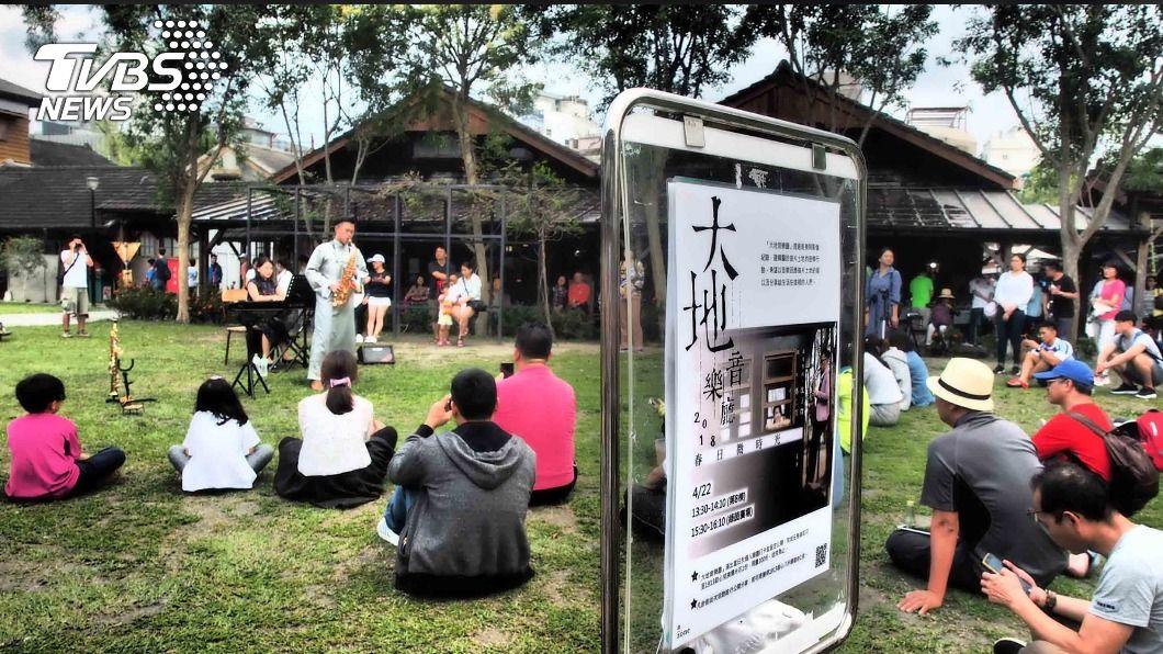 沈子傑推出大地音樂廳計畫走進鄉鎮。(圖/中央社) 沈子傑以大地為音樂廳 帶樂迷從「心」認識台灣