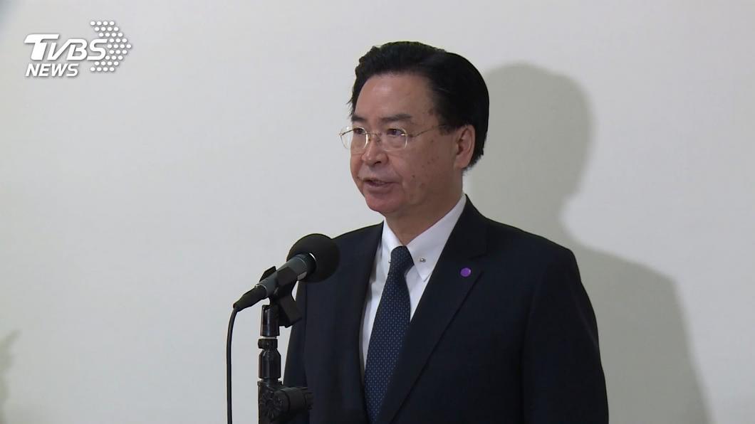 外交部長吳釗燮。(圖/TVBS) 傳美對台3項軍售已通知美國會 吳釗燮回應了