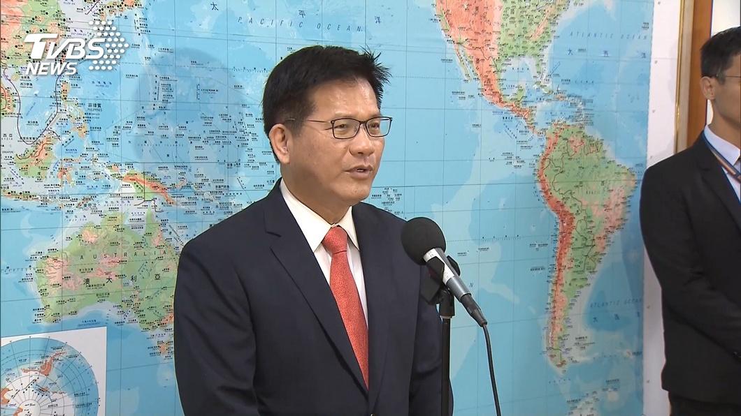 交通部長林佳龍。(圖/TVBS) 元旦起加嚴機組人員檢疫規範 林佳龍籲落實內控