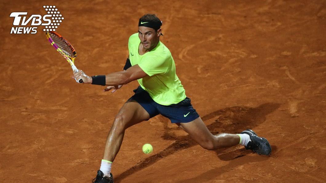 西班牙網球好手納達爾。(圖/達志影像路透社) 法網首輪納達爾面臨硬仗 小威挑戰大滿貫第24冠