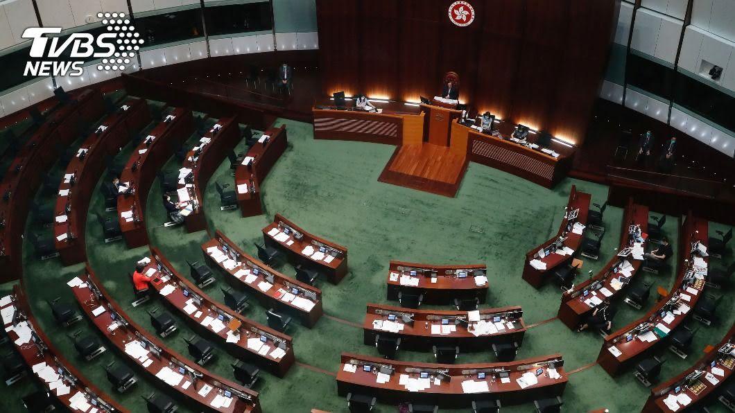 圖/達志影像路透社 拒配合中國人大決定 2香港泛民議員不留任