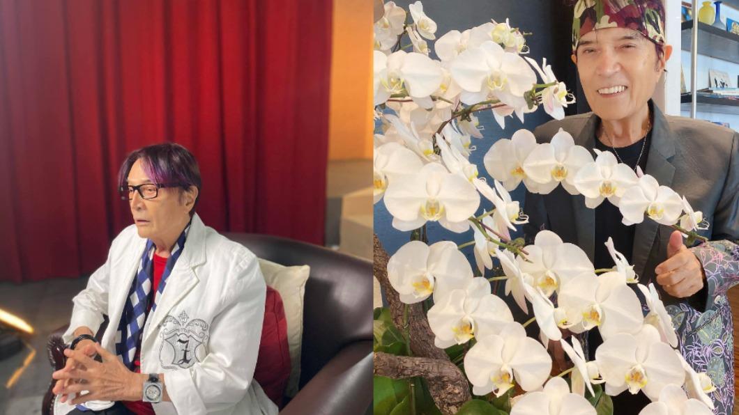 林沖腹部長主動脈瘤。(圖/翻攝自林沖-Jimmy Lin臉書粉絲專業) 87歲「鑽石歌王」長4.5公分腫瘤 醫發病危通知