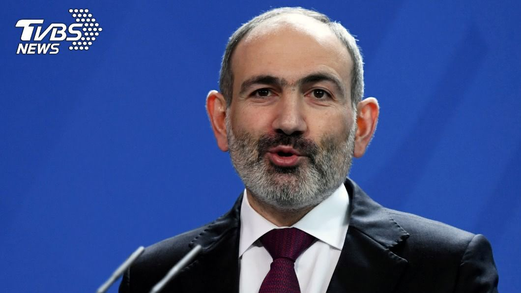 高加索情勢急速升高,亞美尼亞總理帕辛揚宣布緊急狀態。(圖/達志影像路透社) 「不存在的國家」引爆衝突 高加索情勢急速升高