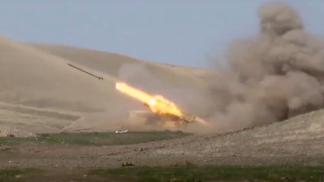 圖/達志影像美聯社 軍民傷亡已破百 亞美尼亞vs亞塞拜然開戰