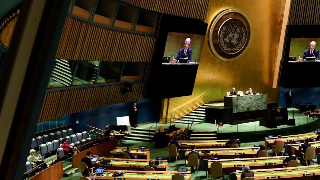 聯大總辯論2友邦接力聲援,尼加拉瓜更是3年來首發聲挺台。(圖/翻攝自聯合國臉書) 聯大2友邦接力聲援 尼加拉瓜3年來首發聲挺台