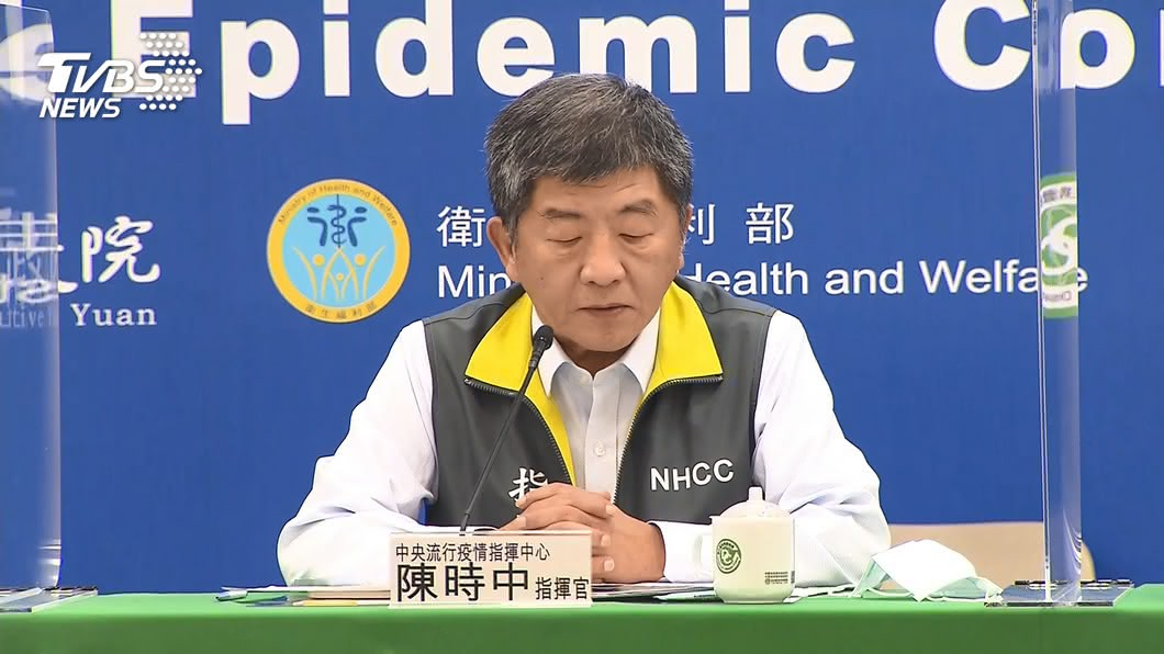 今日新增1例境外移入新冠肺炎確診案例,陳時中將在下午例行記者會說明。(圖/TVBS) 新增1例境外移入 陳時中下午2時親說明