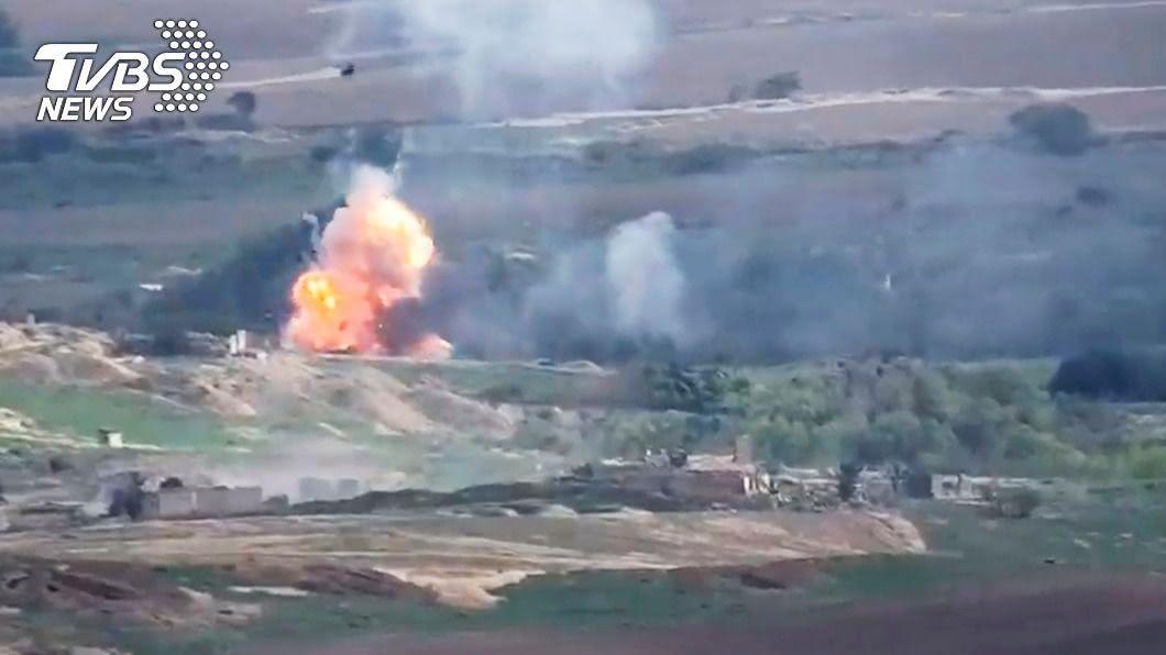 圖/達志影像美聯社資料畫面 快訊/開戰近兩週 亞塞拜然、亞美尼亞同意停火