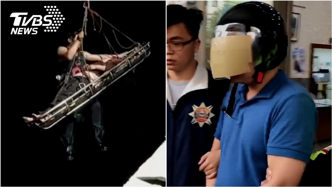 越南移工阮文民去年騎車撞上杜姓老婦,將對方丟下橋後逃逸。(圖/TVBS資料畫面) 撞傷老婦竟「公主抱」丟下橋落跑 狠騎士下場悲劇了