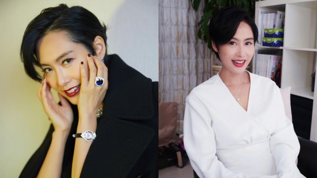 (圖/翻攝自微博) 「紫霞仙子」朱茵零修圖照曝光 48歲膚況驚呆網