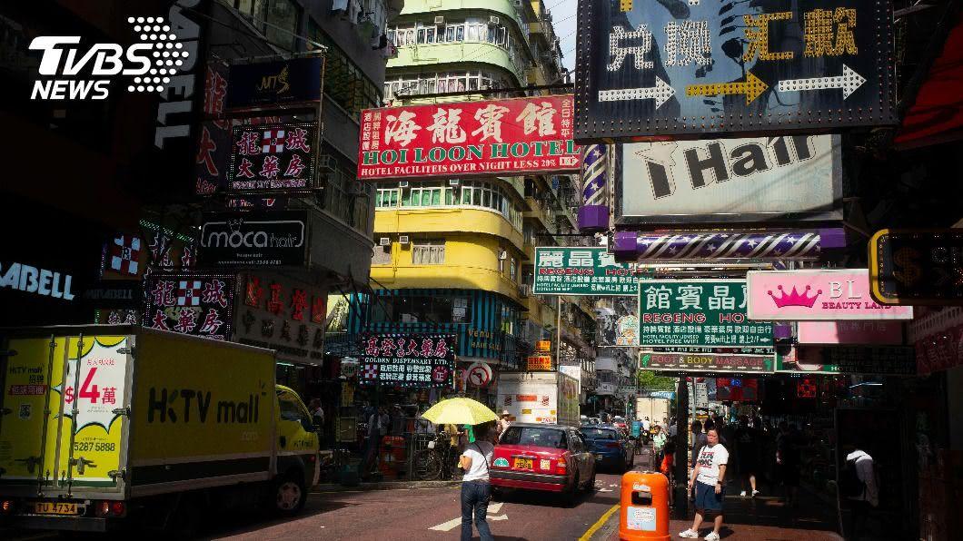 英衛報曝科技企業恐悄把香港用戶資料提供給大陸。(圖/達志影像美聯社) 港國安受威脅? 英衛報曝企業提供大陸用戶資料