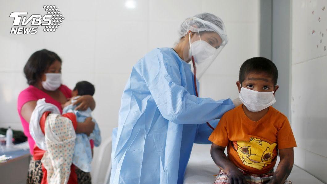 巴西累積確診數破490萬例,為全球第3高國家。(圖/達志影像路透社) 巴西累積確診飆破490萬例 死亡數逼近15萬人