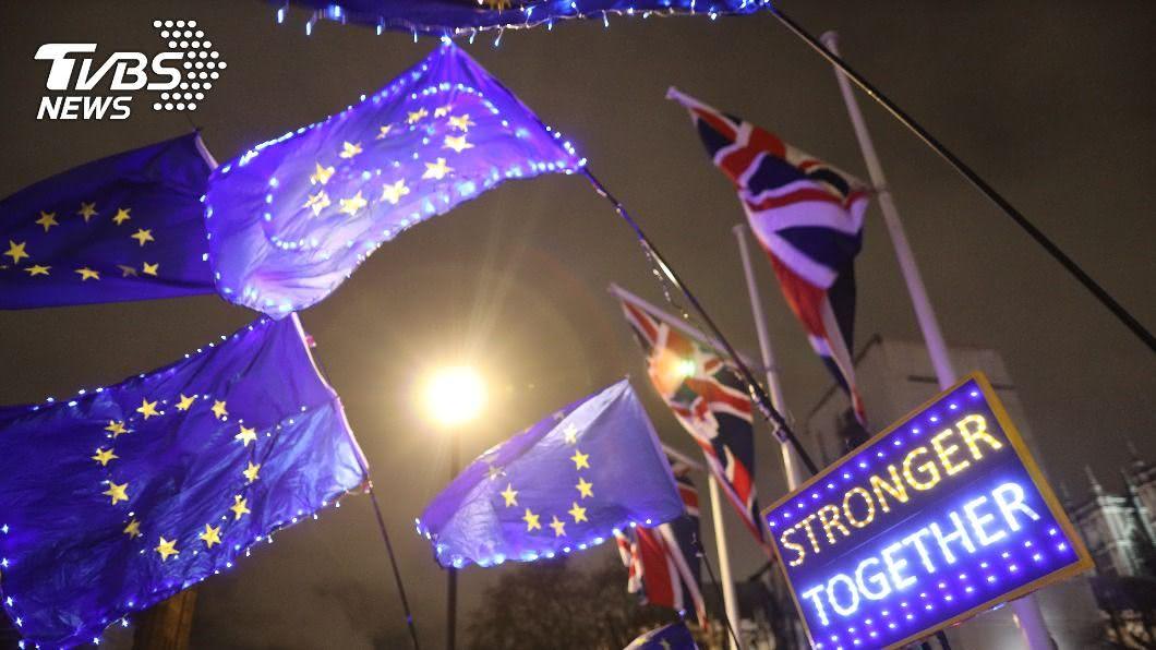 強生和歐盟表示要在時間耗盡前,「積極」推動英國脫歐後的貿易協議。(圖/達志影像路透社) 英國、歐盟加強溝通 致力合作推動貿易協議