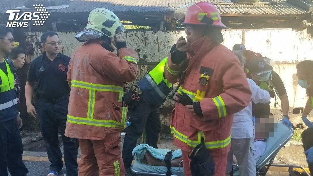 一名越南籍媳婦縱火燒公婆家,所幸並無造成人員死亡。(圖/TVBS資料畫面) 越南媳縱火燒公婆家 事實真相惹人憐惜