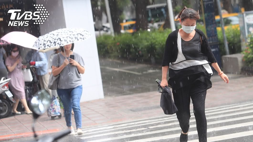 (示意圖/shutterstock 達志影像) 桃園以北宜蘭降雨明顯 留意南海熱帶低壓動態