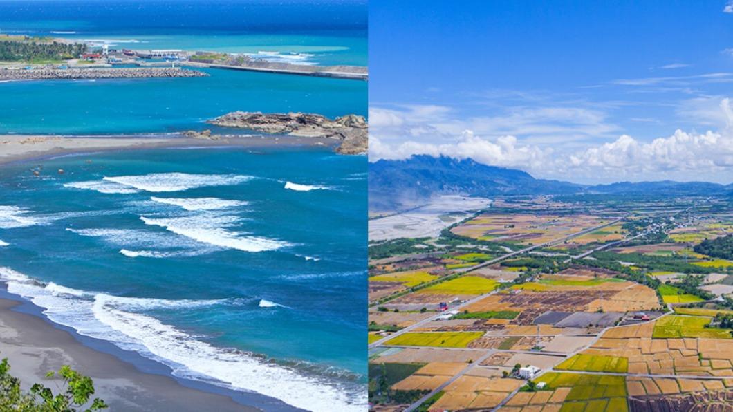 台東靠山面海,孕育許多自然風景。(圖/台東觀光旅遊網) 免開車輕鬆暢遊!花東縱谷到太平洋一次玩得夠
