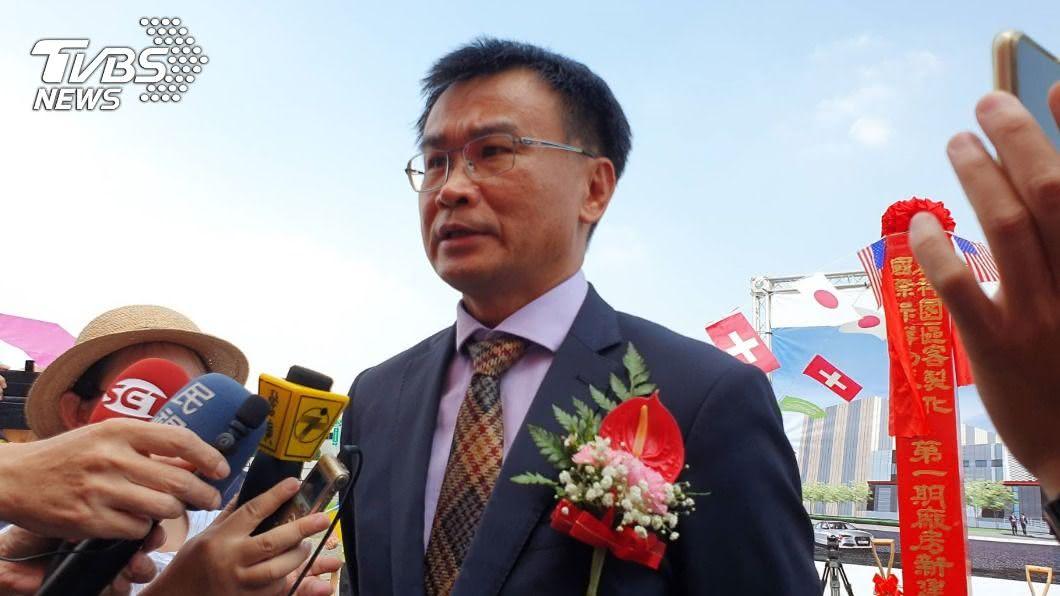 農委會主委陳吉仲表示,將翻轉台灣的農產品質和價格。(圖/中央社) 農科保鮮物流中心動工 陳吉仲:翻轉農產價格