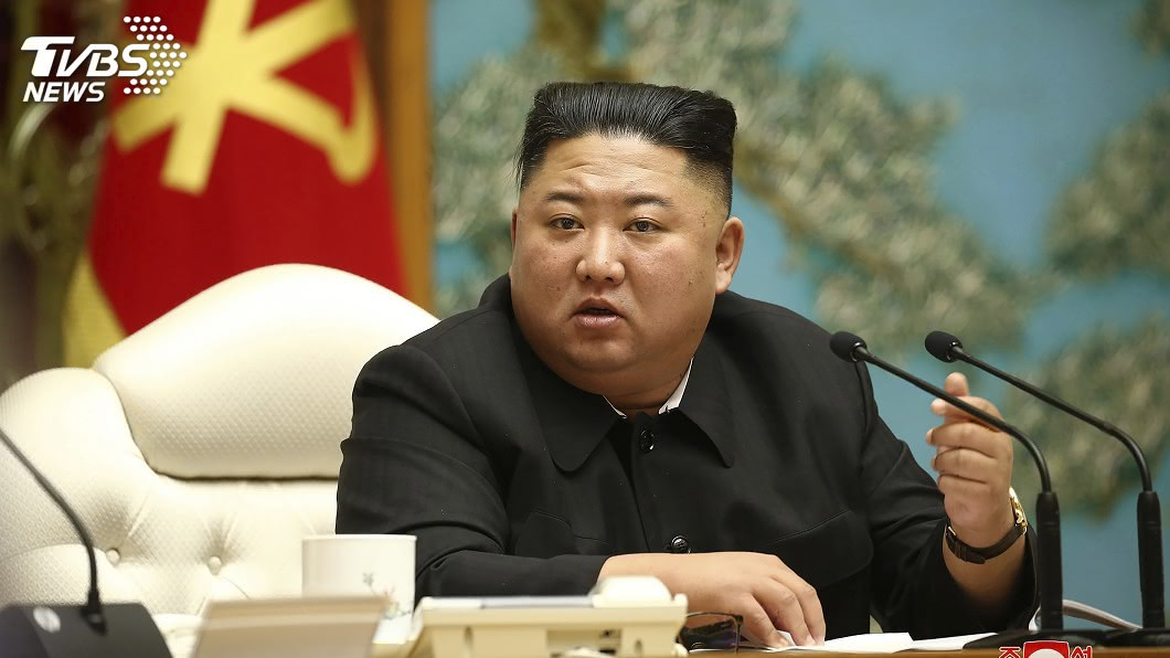 北韓領導人金正恩。(圖/達志影像美聯社) 金正恩下達80天「戰鬥」令 黨全代會前力振經濟