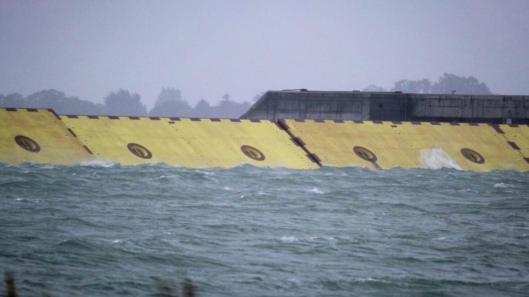 圖/達志影像路透 威尼斯千年水患有解方 「摩西計畫 」擺脫大潮肆虐