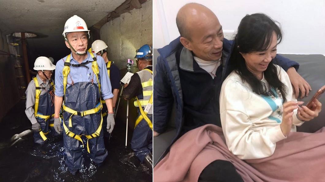 韓國瑜被罷免市長後常被拿出來與陳其邁討論。(圖/翻攝自韓國瑜臉書) 韓國瑜離開…議員認了「高雄慘況」如空城:夜市超平靜
