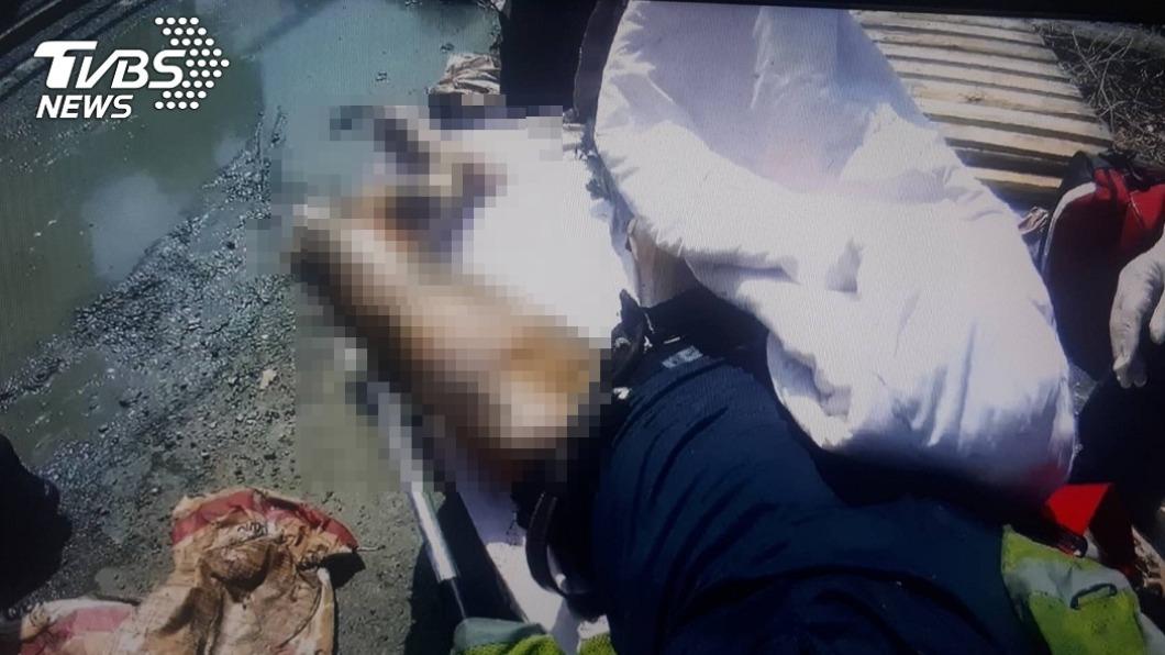 (圖/TVBS) 誤觸高壓電…工人嚴重燒燙傷意識模糊 雙腳截肢保命