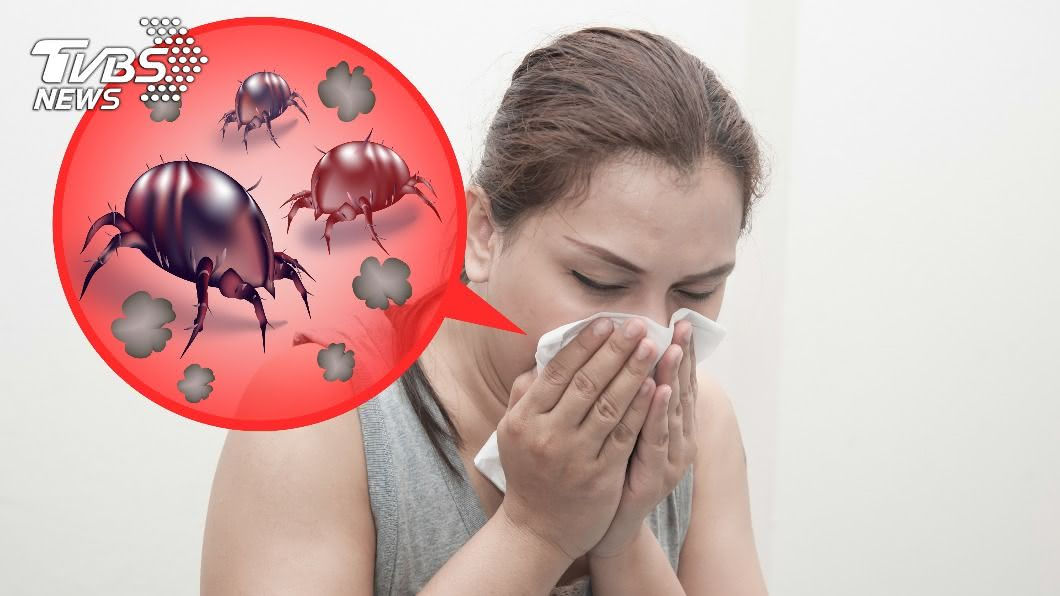 秋冬換季時常會出現過敏症狀。(示意圖/shutterstock達志影像) 塵蟎退散!換季頻過敏 4步驟有效防蟎不哈啾