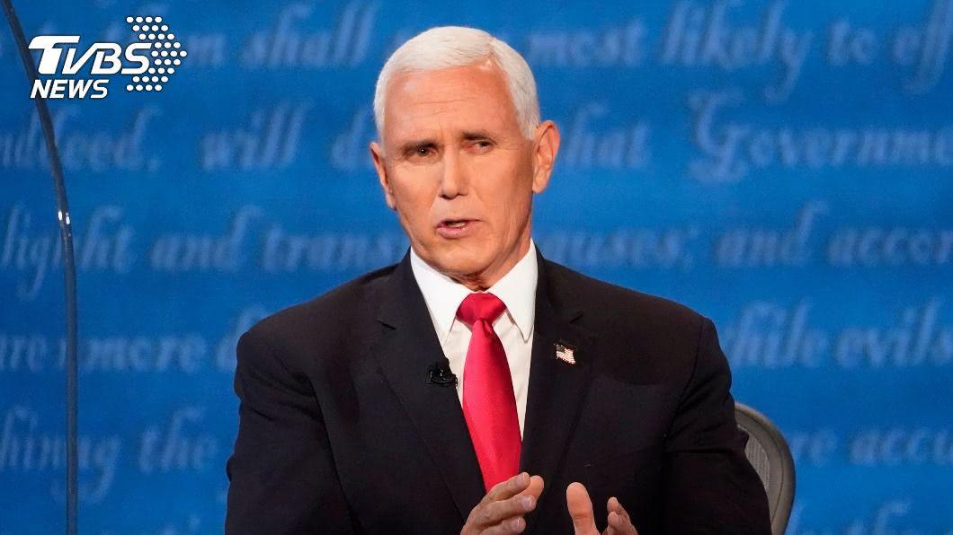 美副總統彭斯。(圖/達志影像美聯社) 川普若敗會否和平移交政權? 彭斯:他會再做4年