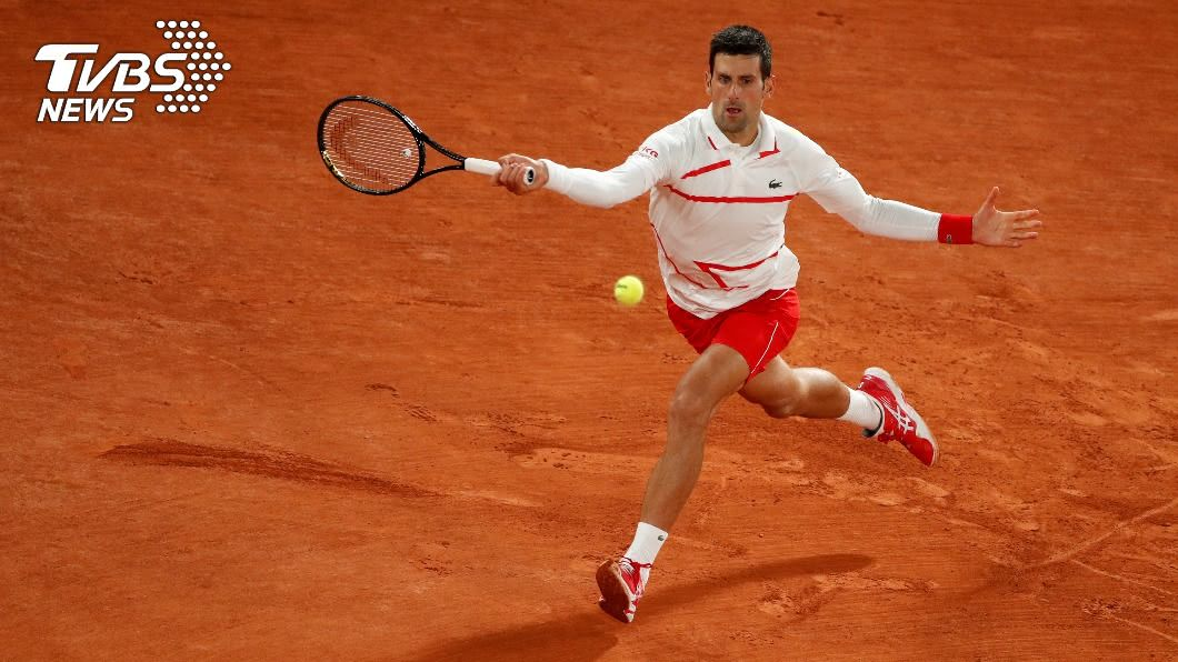 塞爾維亞名將喬科維奇闖進法網準決賽。(圖/達志影像路透社) 喬科維奇晉法網4強 9日與西西帕斯爭決賽門票