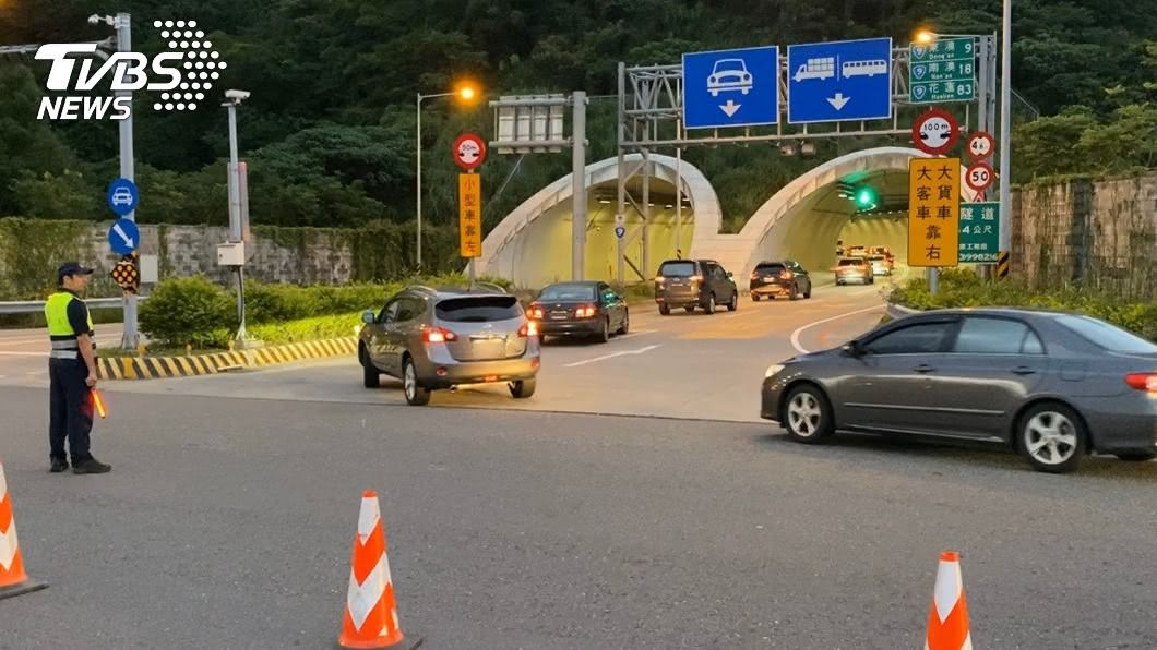 (圖/中央社資料照) 雙十連假蘇花改11時後行車順暢 估車流高峰已過